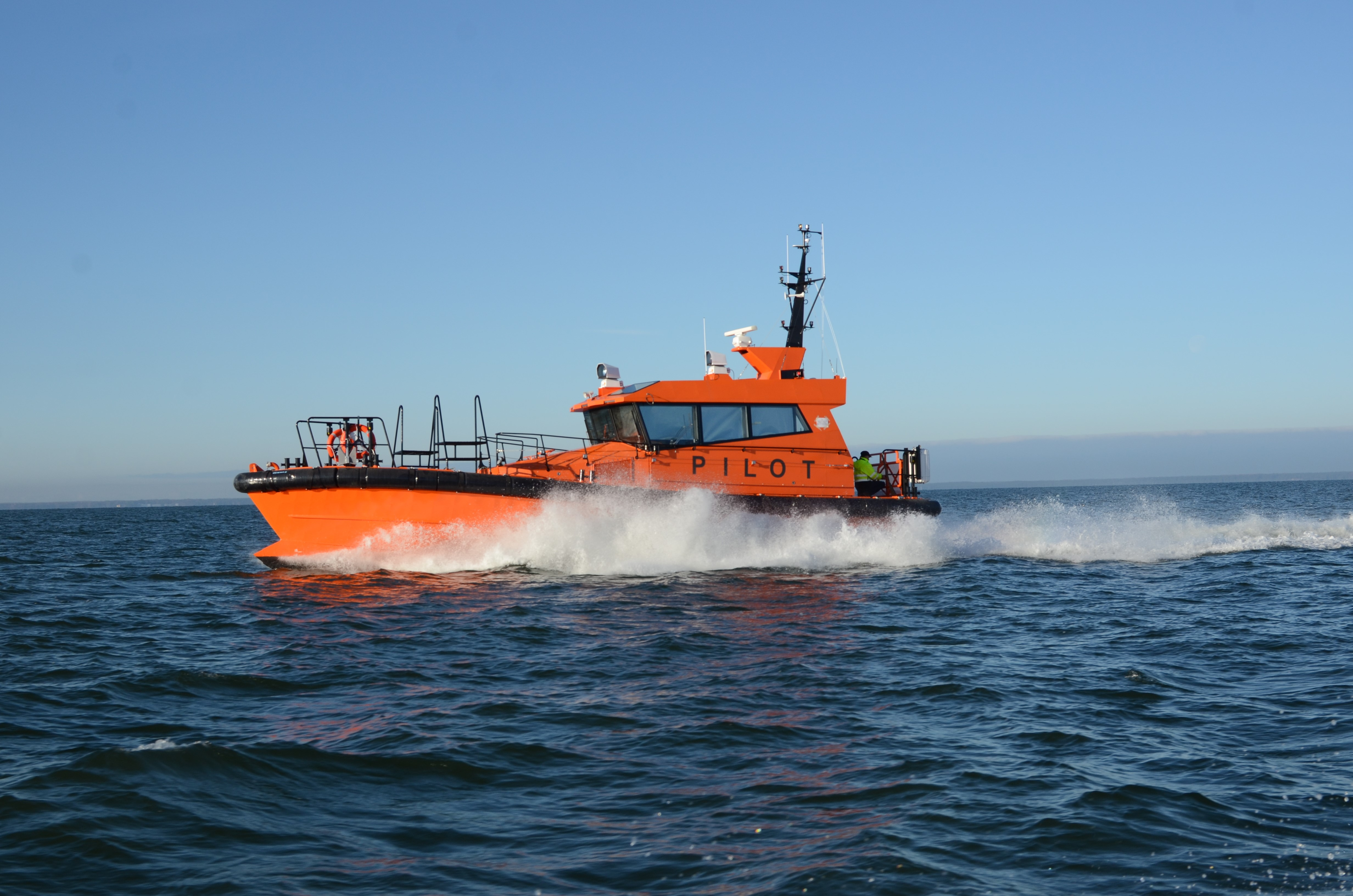 Kitting and Design Support Continue for Baltic Workboats - Amgram